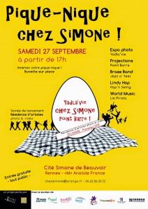 AFFICHE - PiqueNique chez Simone
